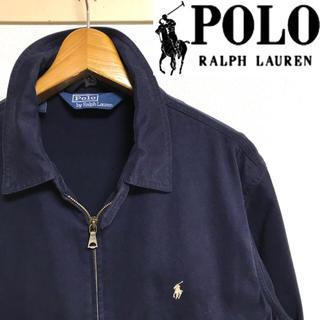 POLO RALPH LAUREN - 美品!ポロ ラルフローレン ポニー刺繍 スウィングトップ ネイビー