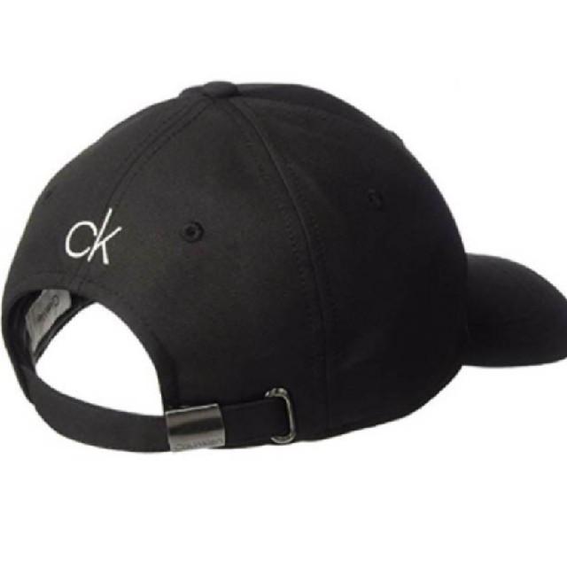 Calvin Klein(カルバンクライン)のCalvin Klein 輸入 キャップ 黒 メンズの帽子(キャップ)の商品写真