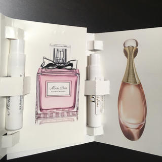 Dior - ディオール☘️香水 サンプル 2品