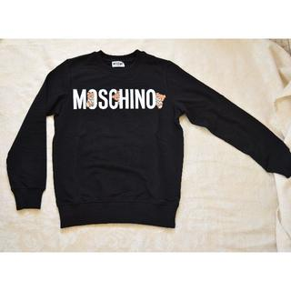 モスキーノ(MOSCHINO)の【新品・未使用】MOSCHINO長袖スウェットシャツキッズサイズ 12A(Tシャツ/カットソー)
