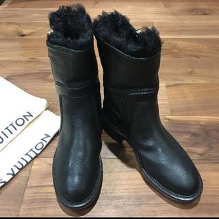 LOUIS VUITTON - 極美品 ルイヴィトン  ブーツ 23.5