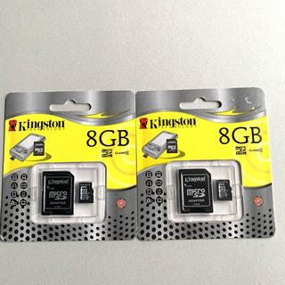 kingston マイクロSDカード 8GB