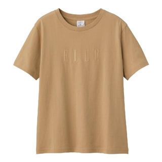 GU - GU ELLE コラボ Tシャツ