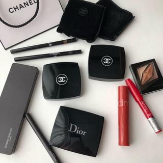 CHANEL - コスメまとめ売り CHANEL、Dior、rom&nd、KATEなど計10点