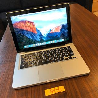 Mac (Apple) - SSD512GBカスタム!MacBook pro 13インチ Late2011