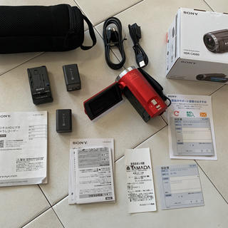 SONY - ソニー HDR-CX680-R デジタルHDビデオカメラレコーダー