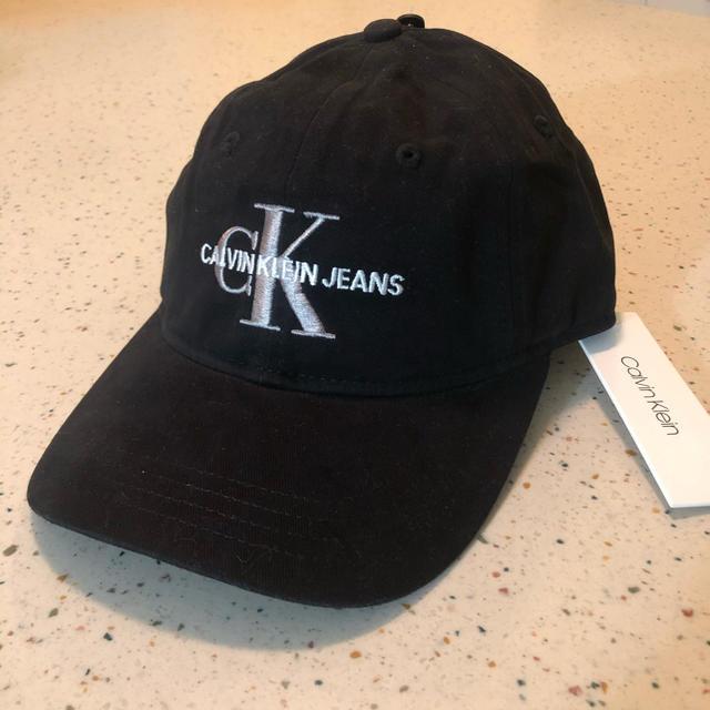 Calvin Klein(カルバンクライン)のCK 黒 キャップ カルバンクライン 帽子 メンズの帽子(キャップ)の商品写真