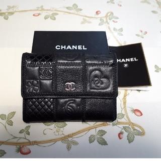 CHANEL - シャネル パッチワーク 財布