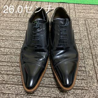 コムサメン(COMME CA MEN)のビジネスシューズ ストレートチップ 革靴 コムサ プラチナ(ドレス/ビジネス)