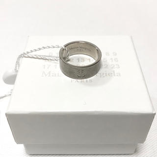 Maison Martin Margiela - 【新品】20SS マルジェラ 指輪 リング S 19号 カレンダー シルバー