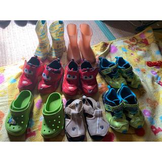 クロックス(crocs)の男の子の靴 16cm 色々セット(スニーカー)