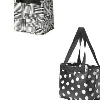 IKEA - 最安値♪イケア数量限定エコバッグ⭐IKEA人気ショッピングバッグ S3枚セット