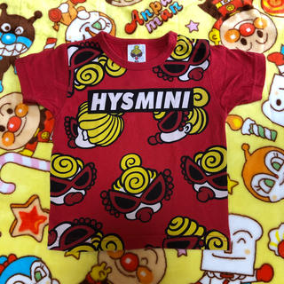 HYSTERIC MINI - フェイス Tシャツ 男女兼用 80