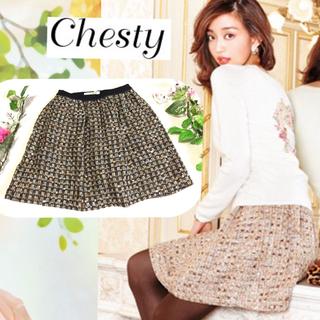 チェスティ(Chesty)のChesty♡定価2万♡ツイードスカート(ミニスカート)