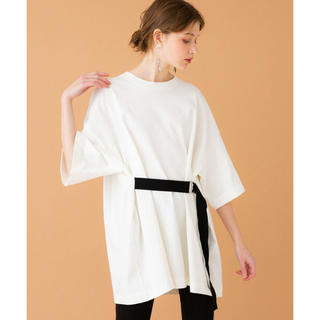 STUDIOUS - united tokyo 2タックビックtシャツ ホワイト