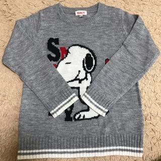 しまむら - しまむら スヌーピー セーター 120センチ