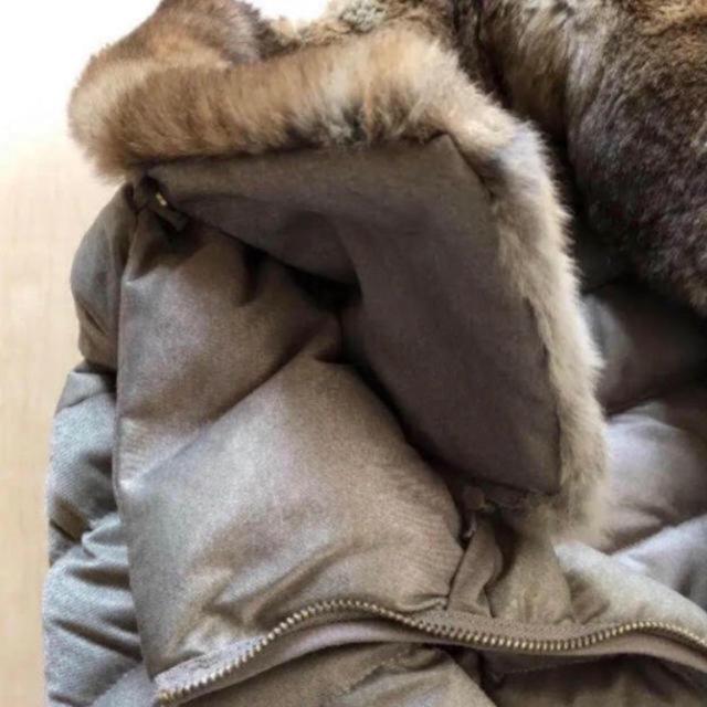 MONCLER(モンクレール)の☆安値!エストネーションで購入[エトレゴ]ファー襟付きダウンコート  ☆ レディースのジャケット/アウター(ダウンコート)の商品写真