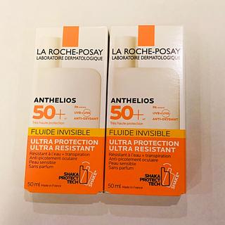 ラロッシュポゼ(LA ROCHE-POSAY)のラロッシュポゼ  アンテリオス  日焼け止め 2個セット 新品未使用(日焼け止め/サンオイル)
