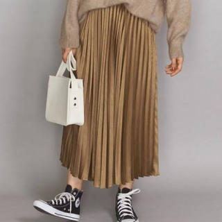 BEAUTY&YOUTH UNITED ARROWS - beauty&youth ランダムプリーツスカート