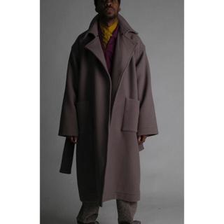 サンシー(SUNSEA)のatha 19aw melton maxi coat(ロングコート)