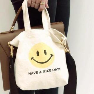 DEUXIEME CLASSE - ドゥーズィエム SMILEY FACE SMILE BAG 新品タグ付き