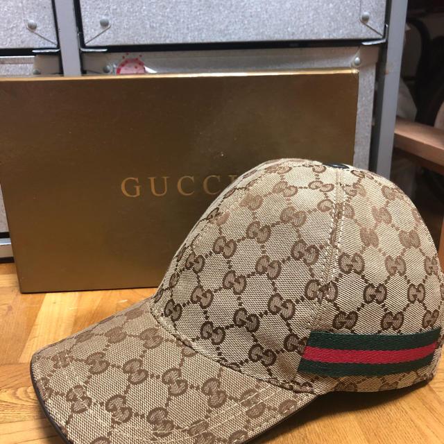 Gucci(グッチ)のguuciの帽子 メンズの帽子(キャップ)の商品写真