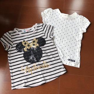 ジャンクストアー(JUNK STORE)の半袖 Tシャツ ディズニー ミニー  100(Tシャツ/カットソー)