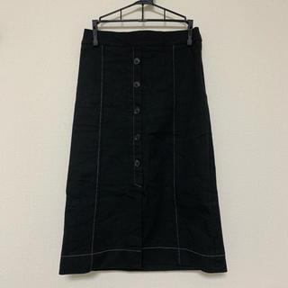 dholic - 韓国 ホワイトステッチ スカート
