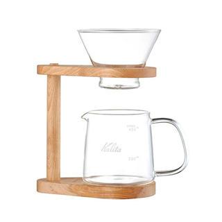カリタ(CARITA)のカリタ 44304 WDG-185 ウェーブドリッパー スタンドセット(コーヒーメーカー)