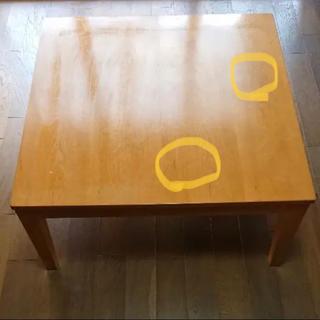 MUJI (無印良品) - 無印良品こたつ・テーブル 複数購入割引有!