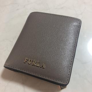 Furla - 美品✨フルラ 二つ折り財布 コンパクト  サッビア