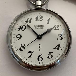セイコー(SEIKO)のセイコー 懐中時計 7550-0010 電池交換済 鉄道時計 国鉄 昭和55(その他)