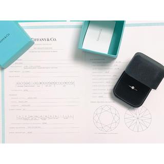 Tiffany & Co. - ティファニー Tiffany ダイヤモンド リング 指輪 エンゲージ pt950