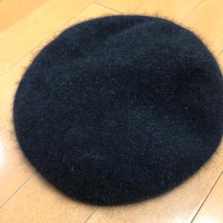 moussy - moussy ベレー帽 ブラック