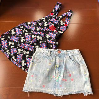 アナップ(ANAP)のアナップ ANAP ジャンバースカート スカート 120(スカート)