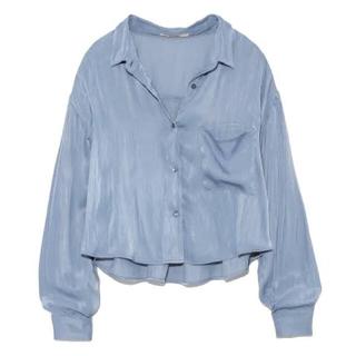 snidel - サテンシャツ