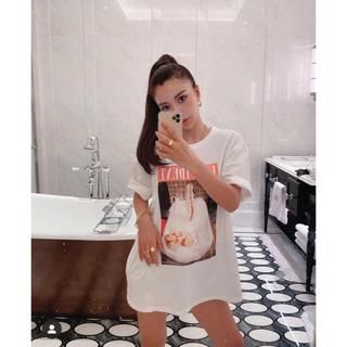 エイミーイストワール(eimy istoire)のeimy istoire  MARILYN MONROE Photo Tシャツ(Tシャツ(半袖/袖なし))