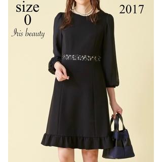 TOCCA - 美品 TOCCA IRIS BEAUTY ドレス 0 黒