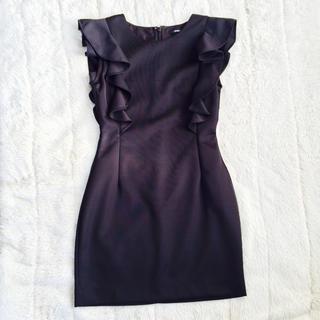 エモダ(EMODA)のクリスマスに♡EMODAブラックドレス(ミニワンピース)