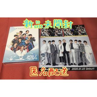 Johnny's - 【新品未開封】素顔4 Snow Man盤 ポストカード付き