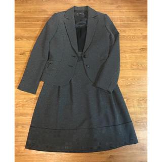 インタープラネット(INTERPLANET)のインタープラネット スーツ フォーマル ワンピース 黒 入学式 卒業式 (スーツ)