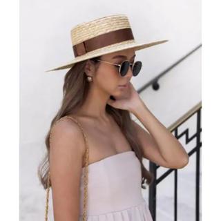 ルームサンマルロクコンテンポラリー(room306 CONTEMPORARY)のroom306 ストローハット 完売商品(麦わら帽子/ストローハット)