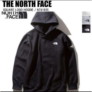 THE NORTH FACE - 【新品タグ付】ノースフェイス スクエアロゴフーディー ブラック NT61835