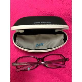 ゾフ(Zoff)のZoffメガネ ケース・メガネ拭き付き(サングラス/メガネ)