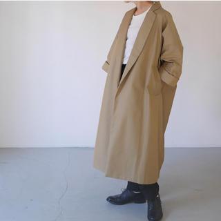 DEUXIEME CLASSE - argue    burberry cotton wide boxy coat