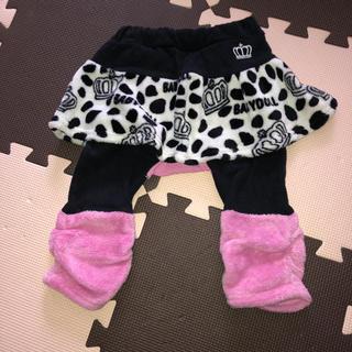 ベビードール(BABYDOLL)の㉛【BABYDOLL】ダルメシアン スカート付きレギンス ボア 女の子 冬(パンツ)