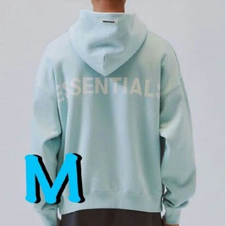FEAR OF GOD - FOG Essentials Pullover Hoodie BLUE M