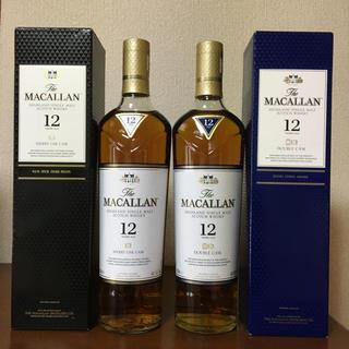 サントリー(サントリー)の☆飲み比べ☆ザ、マッカラン2本(ウイスキー)