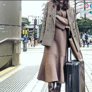 rienda - 新品未使用タグ付き☆リエンダ マーメイドロングニットワンピース