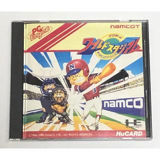 エヌイーシー(NEC)のPC-Engine プロ野球 ワールドスタジアム(家庭用ゲームソフト)